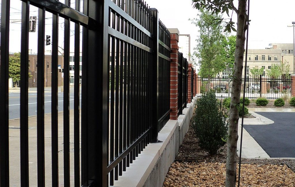 Center St. Lot - Fence