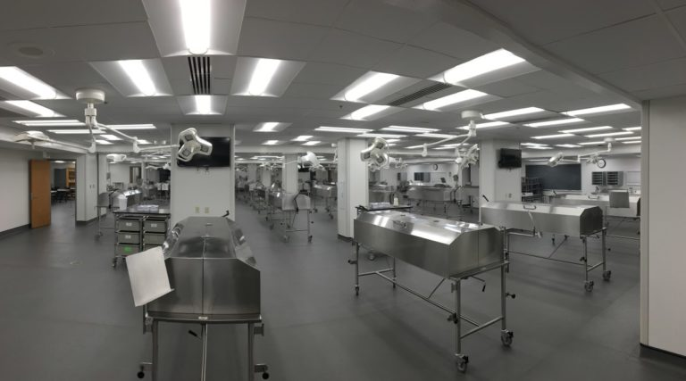 UAMS Gross Anatomy Lab